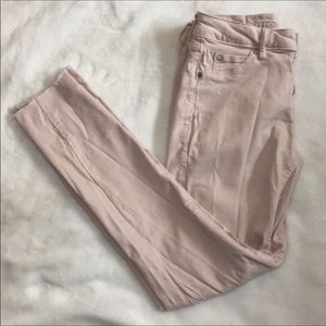 Articles of society pale pink Sz 25 jeans